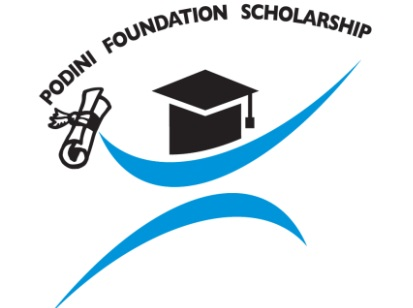 logo podini foundation scholarship