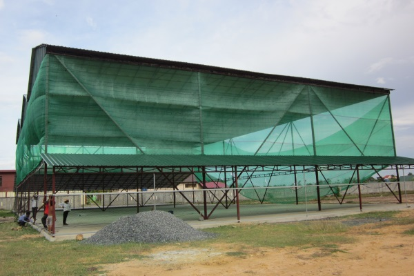 Der Bau Dieser Indoor-Sportanlage Ermöglicht Sport Auch Bei Widrigen Wetterbedingungen